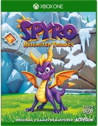 Spyro Reignited Trilogy (Xbox One)-thumb