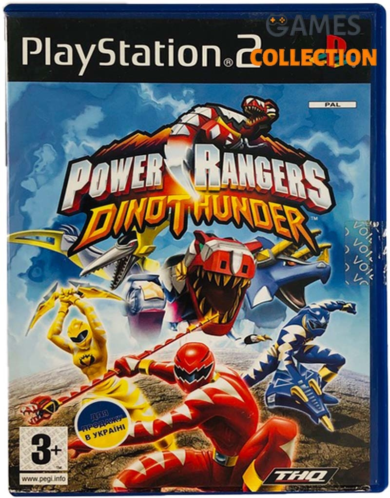 Power Rangers Dino Thunder (PS2) Б/У-thumb