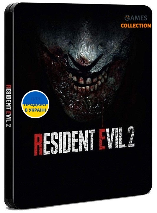 Resident evil 2 Remake Steelbook Edition (PS4)-thumb