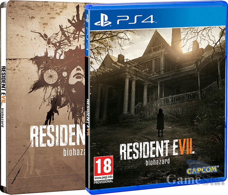 Resident Evil 7 Steelbook (PS4)-thumb