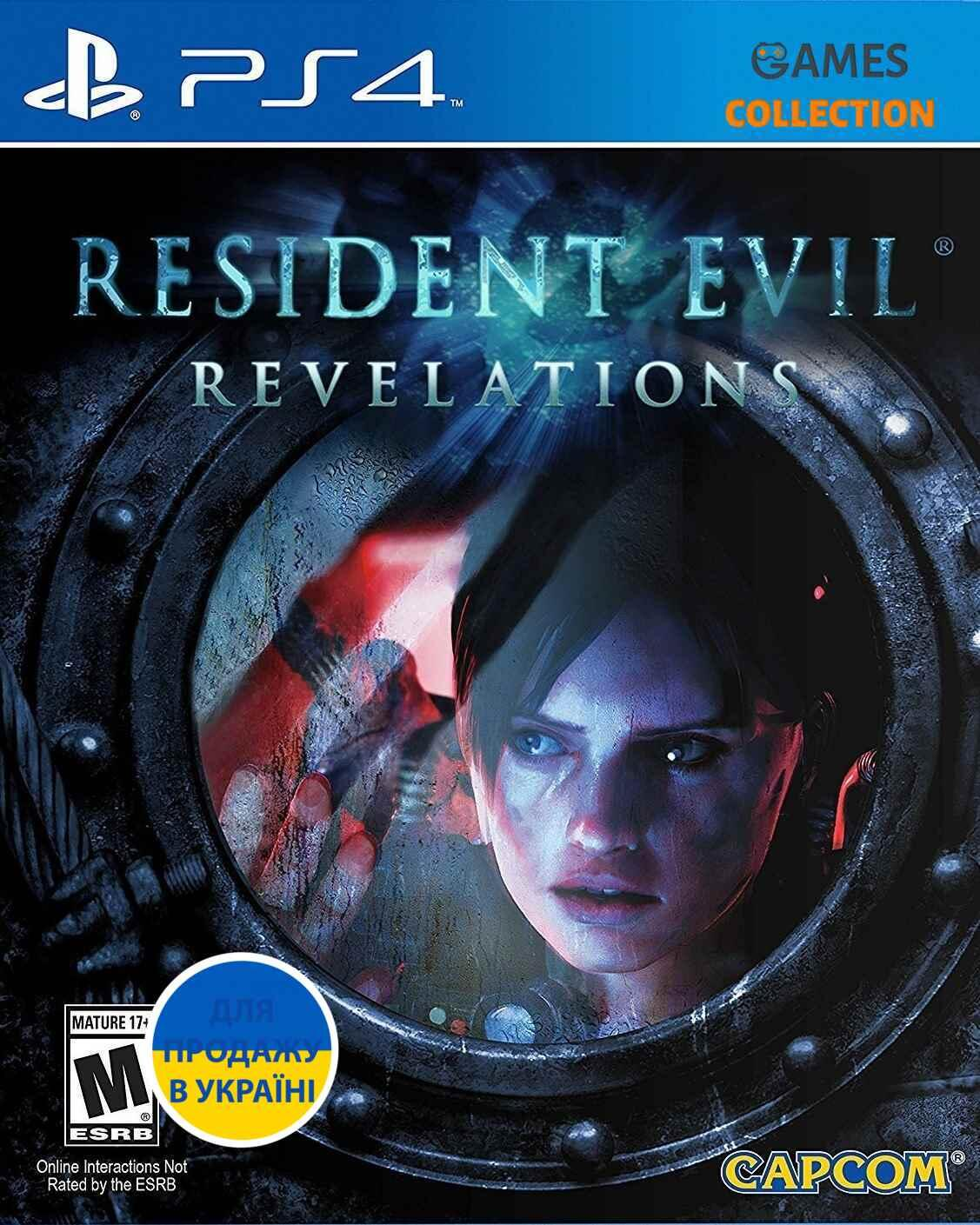 Resident Evil Revelations (PS4)-thumb