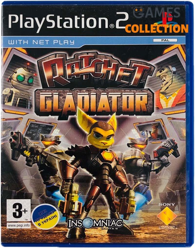 Ratchet: Gladiator (PS2) Б/У-thumb