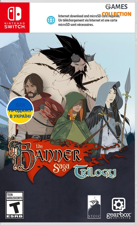 The Banner Saga Trilogy (Switch)-thumb