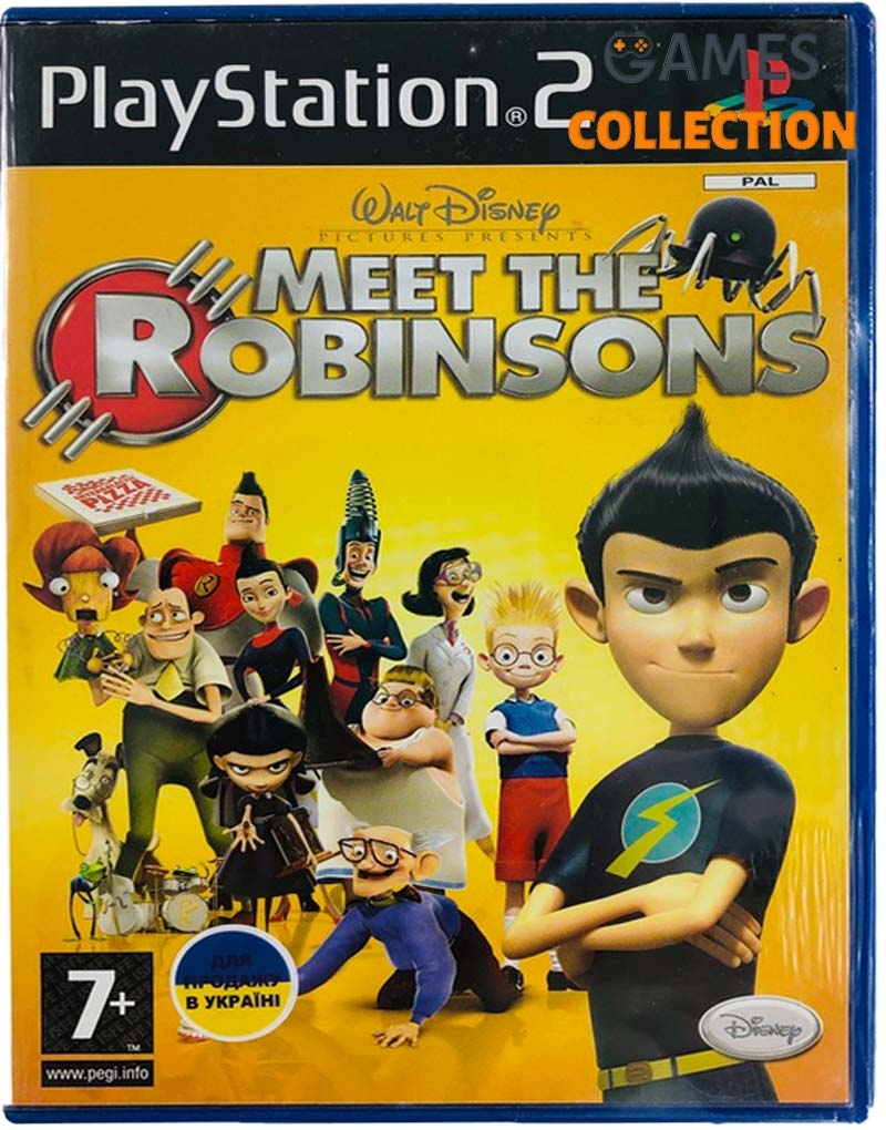Meet the Robinsons (PS2) Б/У-thumb