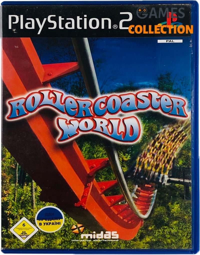 RollerCoaster World (PS2) Б/У-thumb