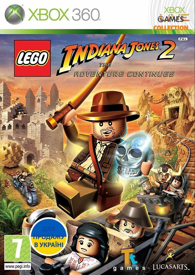 LEGO Indiana Jones 2: The Adventure Continues (XBOX360)-thumb
