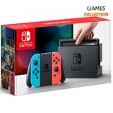 Nintendo Switch Red-blue\Grey+Micro SD 128GB (19 игр)-thumb