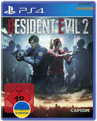 Resident Evil 2 (PS4) Б/У-thumb