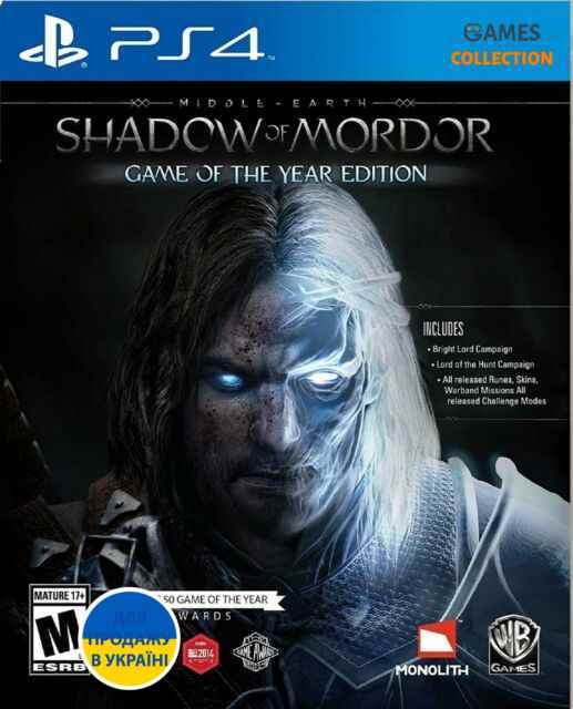 Middle-earth: Shadow of Mordor – Game of the Year Edition (PS4)-thumb