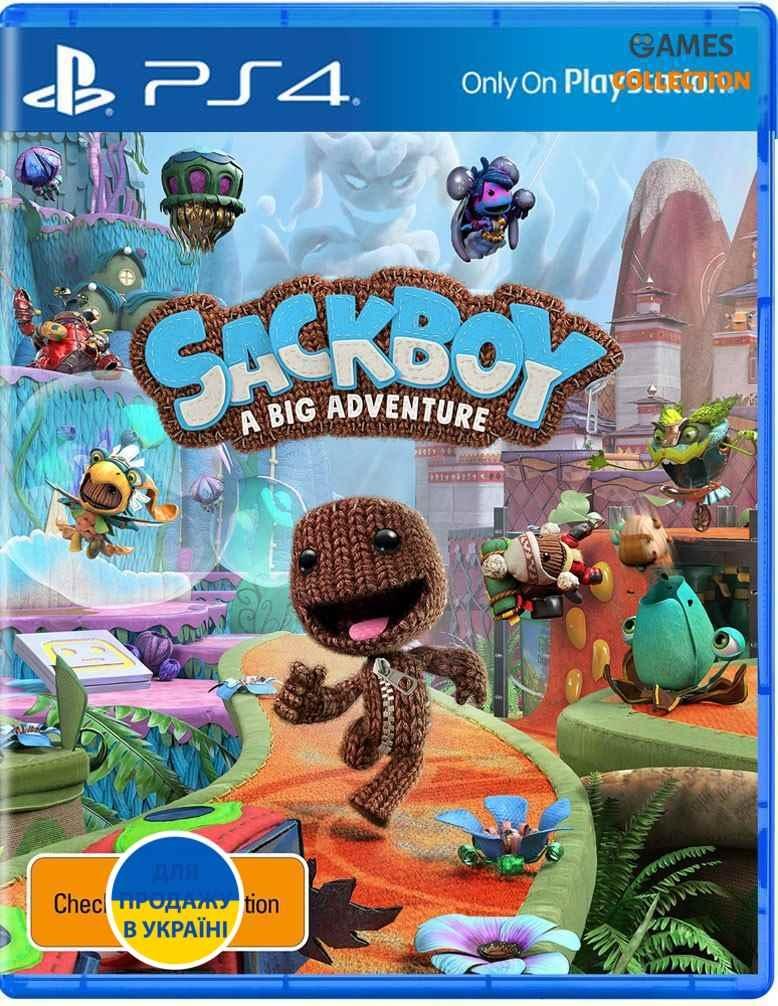 Sackboy: A Big Adventure (PS4)-thumb