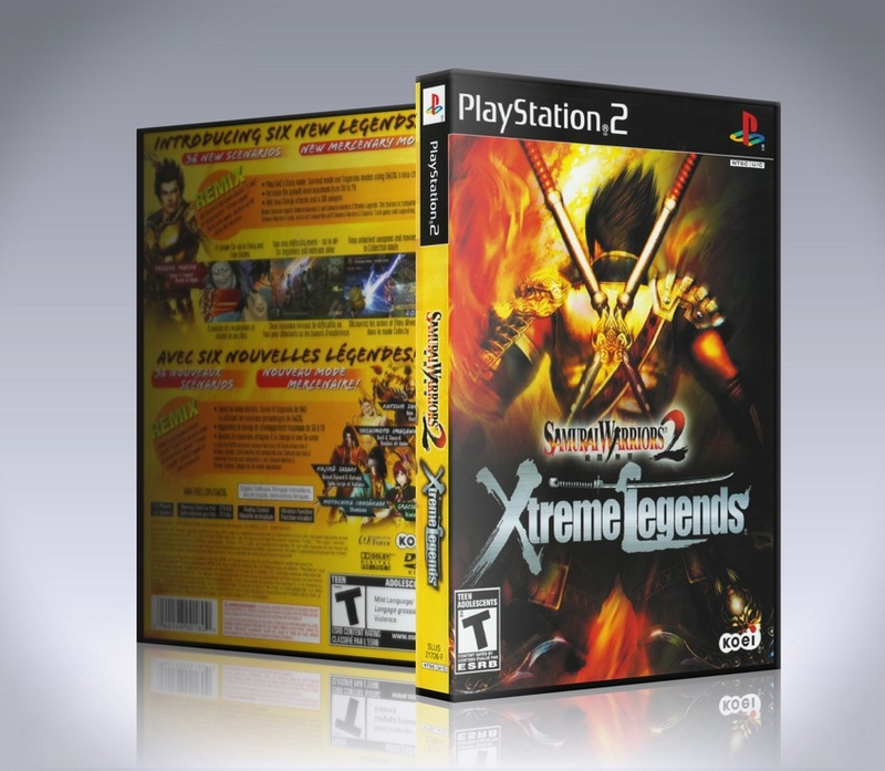 Samurai Warriors 2 Xtreme Legends (ps2)-thumb