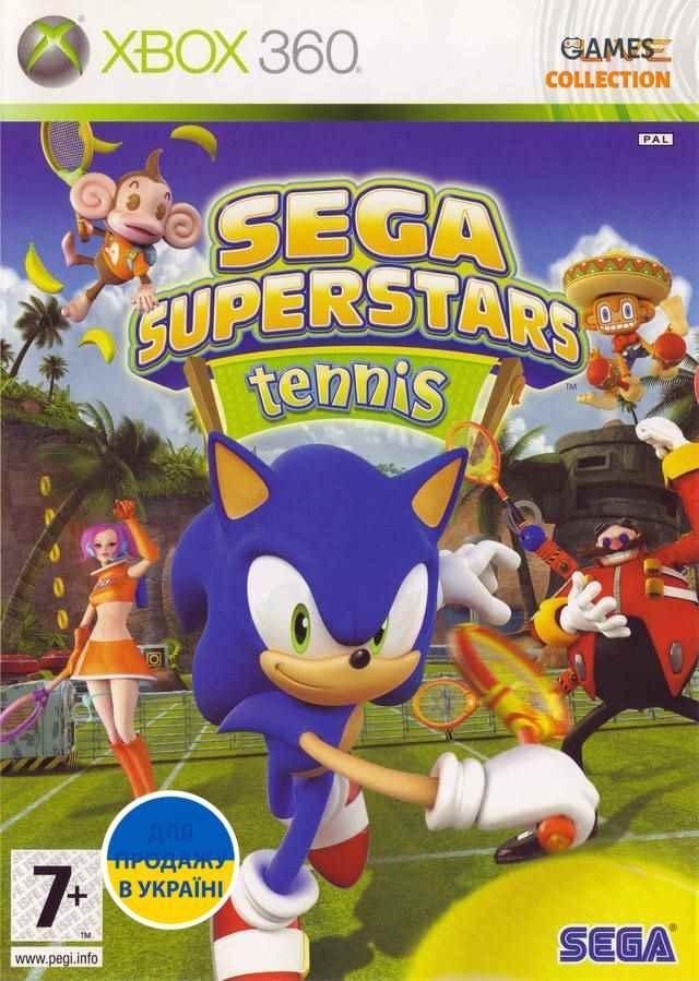 SEGA Superstars: Tennis (XBOX360)-thumb