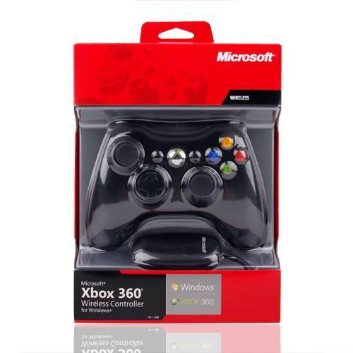 Беспроводной геймпад Microsoft Xbox 360 (PC) (Оригинал)-thumb