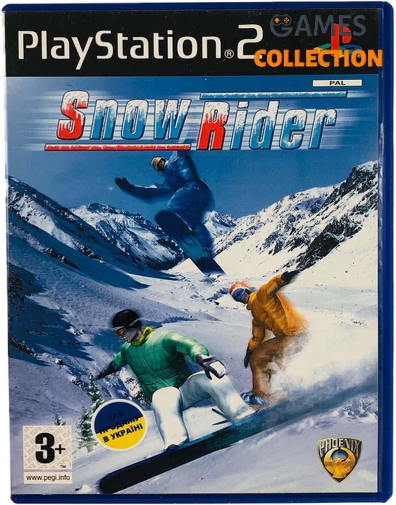 Snow Rider (PS2) Б/У-thumb