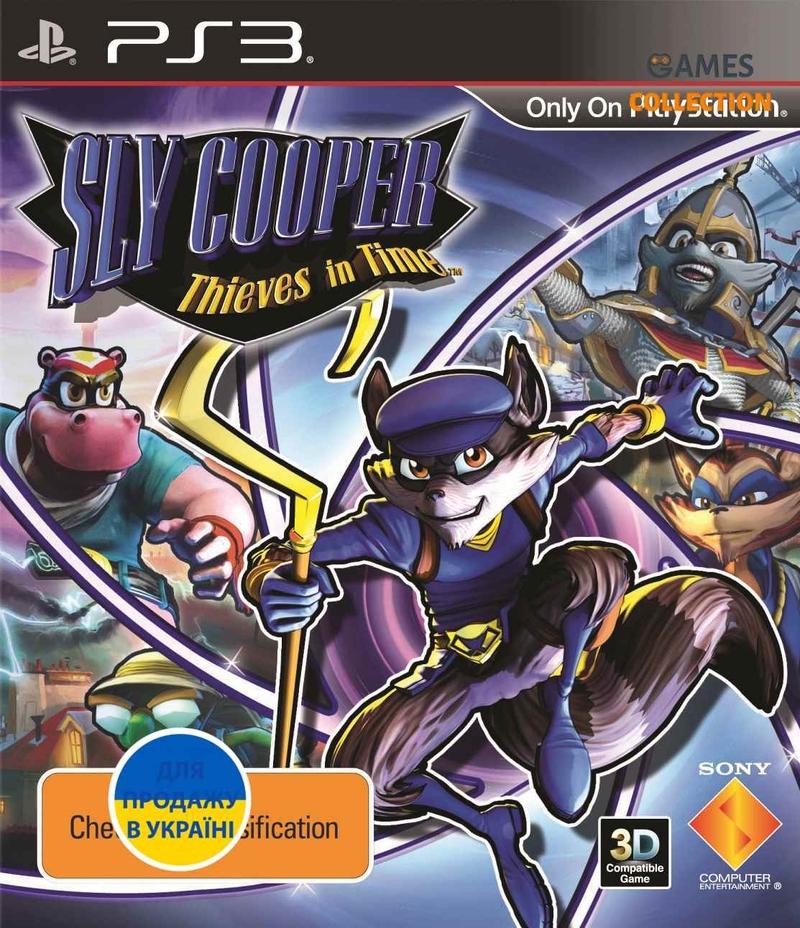 Sly Cooper: Прыжок во времени (PS3)-thumb