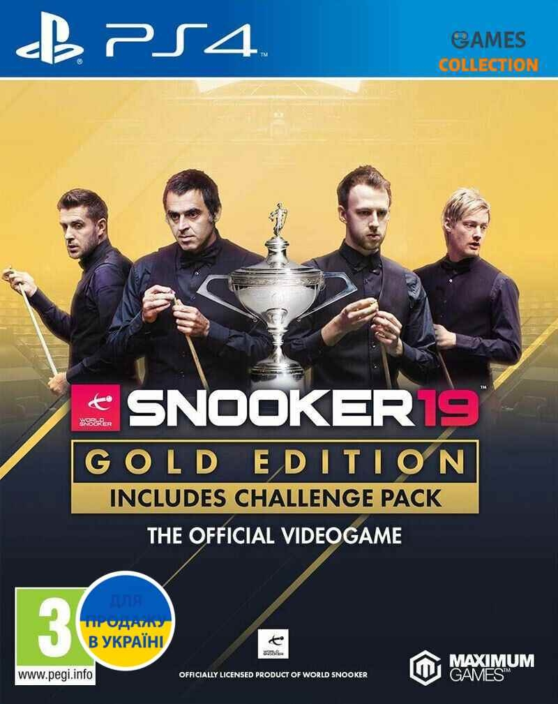 Snooker 19 Gold Edition (PS4)-thumb
