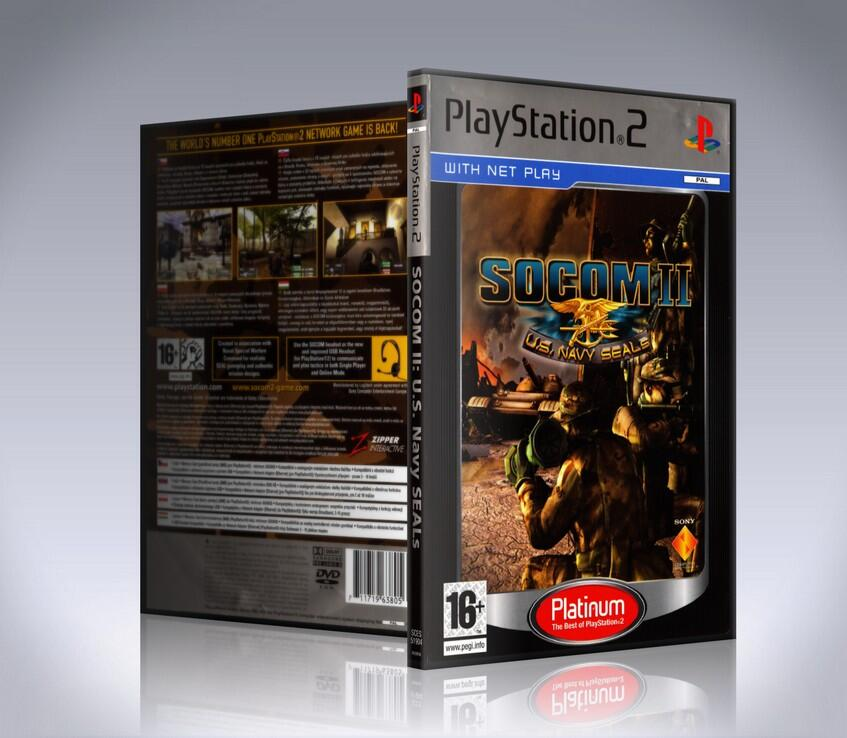SOCOM II U.S. Navy SEALs platinum (ps2)-thumb