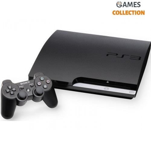 Sony Playstation 3 160GB Slim с играми (Б/У)-thumb