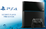 Sony PlayStation 4 1Tb (Black)-thumb