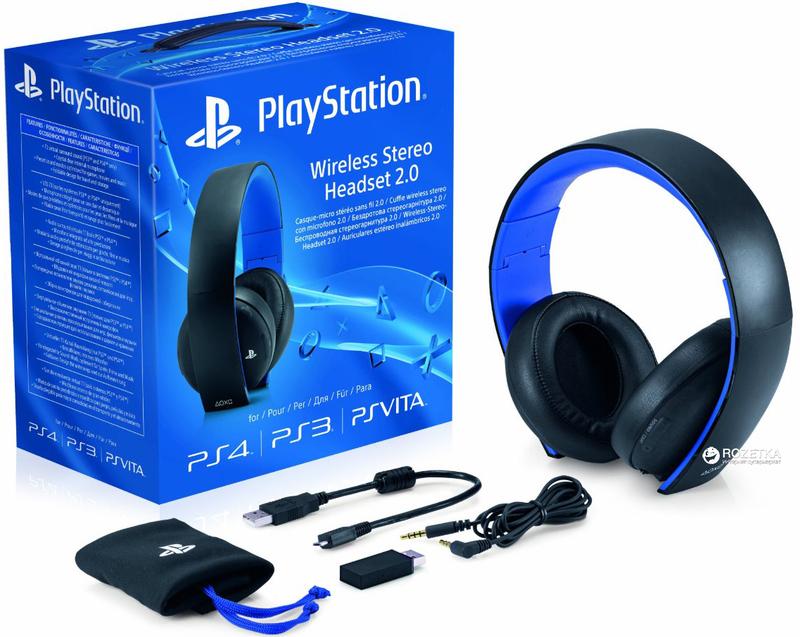 Гарнитура Sony PS4 Wireless Stereo Headset 2.0-thumb