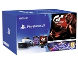 PlayStation VR  + PS Camera+ VR Worlds + Grand Turismo Sport-thumb