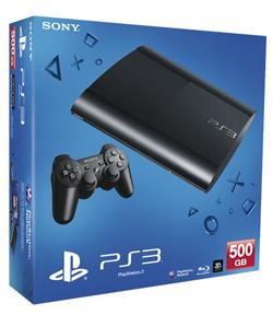 Sony Playstation 3 Super Slim Bundle (500GB, CECH-4008C)-thumb