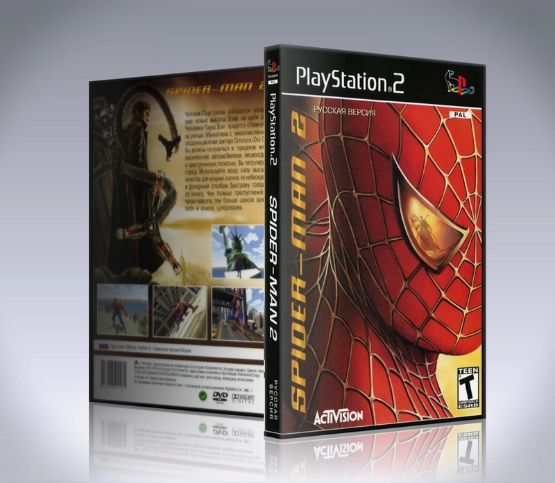 Spider Man 2 (ps2)-thumb