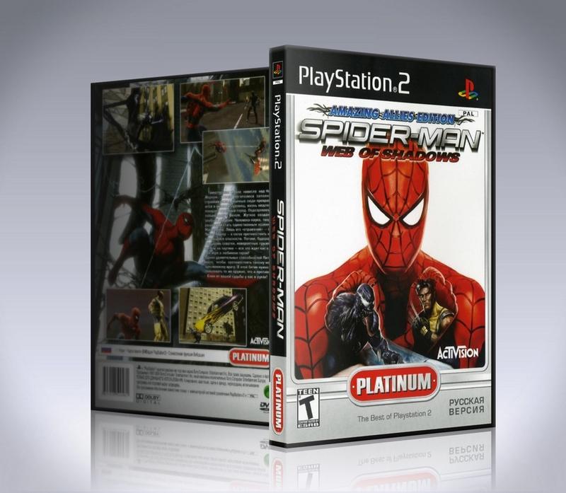 Spider Man Web of Shadows (ps2)-thumb
