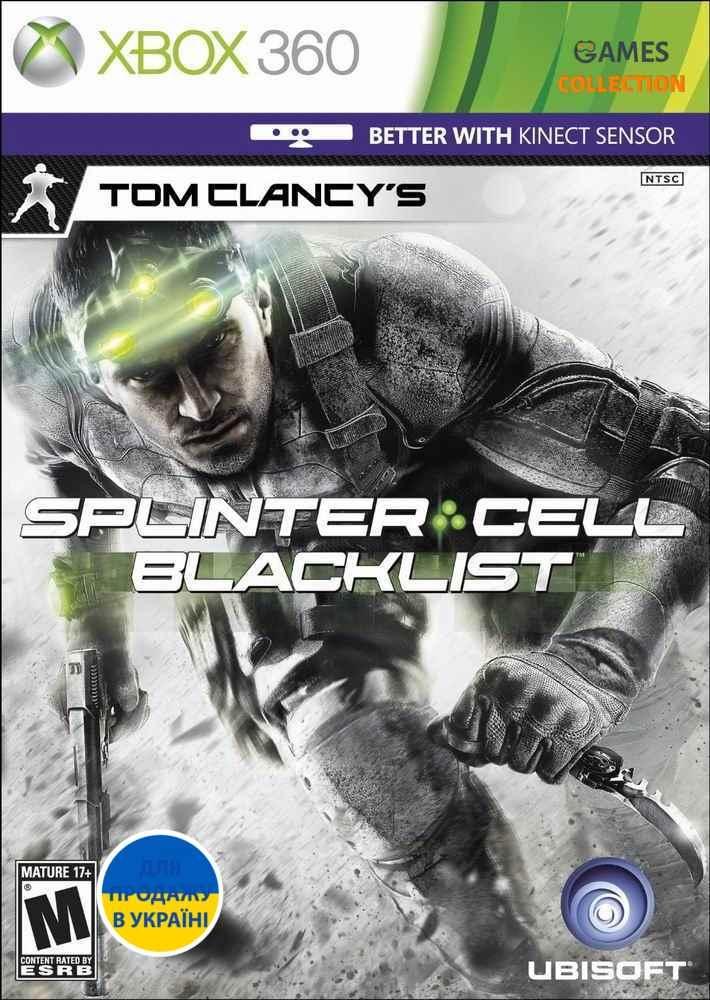 Tom Clancy's Splinter Cell: Blacklist (XBOX360) Б/У-thumb