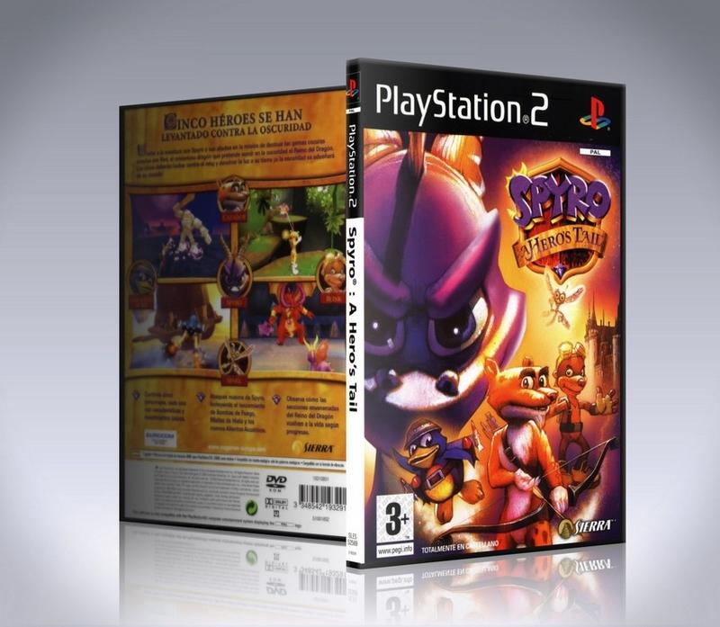 Spyro A Hero's Tail (ps2)-thumb