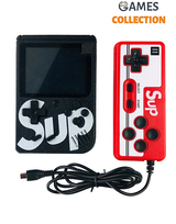 Консоль SUP GAME BOX Черная 400 игр + Джойстик для 2х игроков на ТВ-thumb