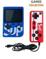 Консоль SUP GAME BOX Синяя 400 игр + джойстик для 2х игроков на ТВ-thumb