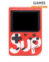 Портативная Приставка 400 Игр Dendy SEGA 8bit SUP (Red)-thumb