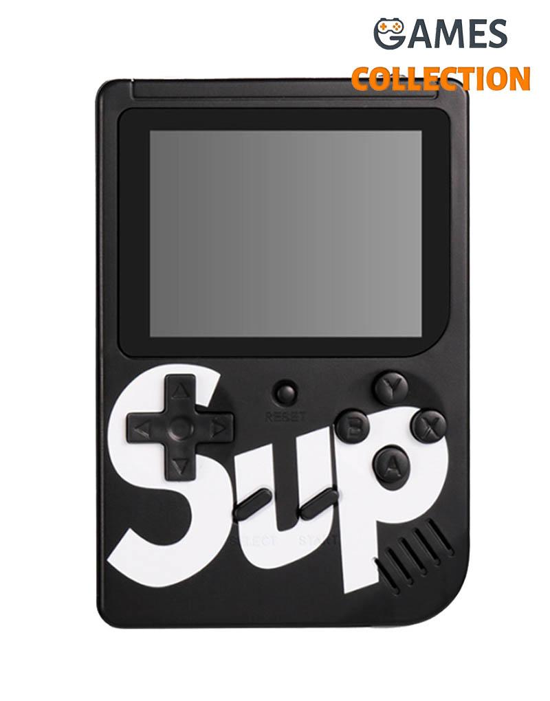Портативная приставка SUP 400 игр dendy. SEGA 8bit (Черная)-thumb