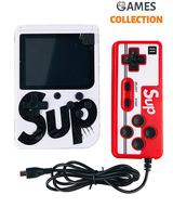Консоль SUP GAME BOX Белая 400 игр + джойстик для 2х игроков на ТВ-thumb