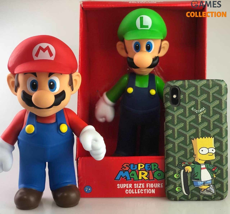 Super Mario 25 см пара 2 шт (Фигурки)-thumb