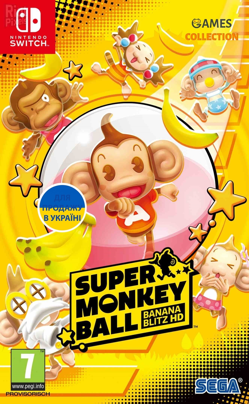 Super Monkey Ball (NSW) Banana Blitz HD-thumb
