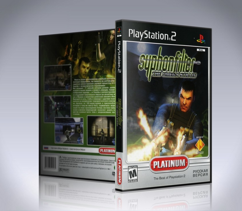 Syphon Filter The Omega Strain (ps2)-thumb