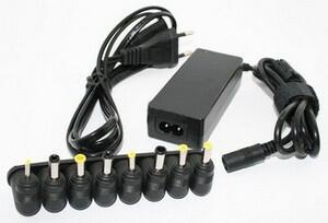 Зарядка для ноутбуков универсальная 2в1 сеть220В + авто12В-thumb