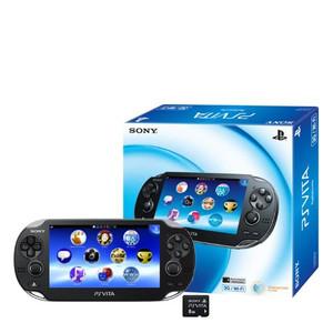 Sony PlayStation Vita WiFi + 8Gb + мягкий чехол + пленка на экран-thumb