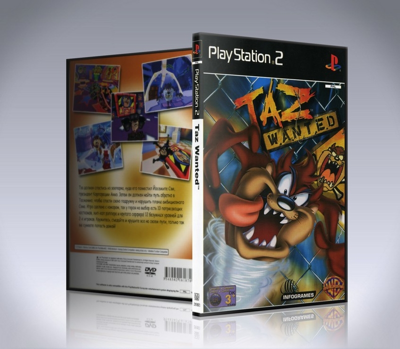 Taz Wanted (ps2)-thumb