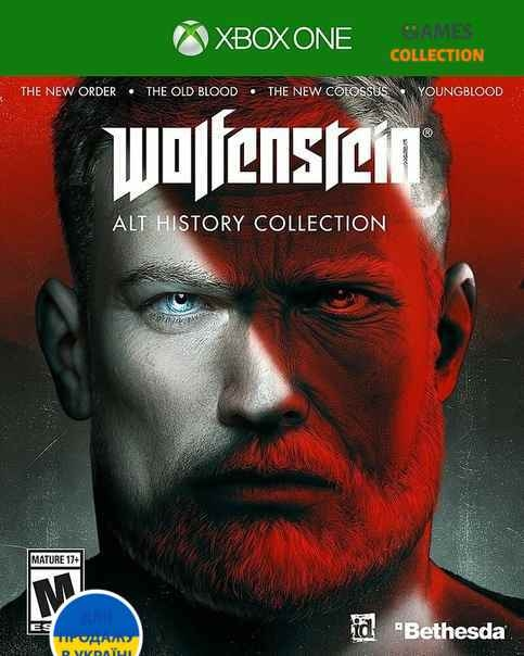 Wolfenstein: Alt History Collection (XBox One)-thumb