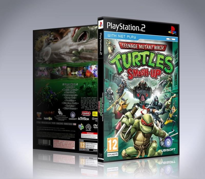 Teenage Mutant Ninja Turtles Smash Up (ps2)-thumb