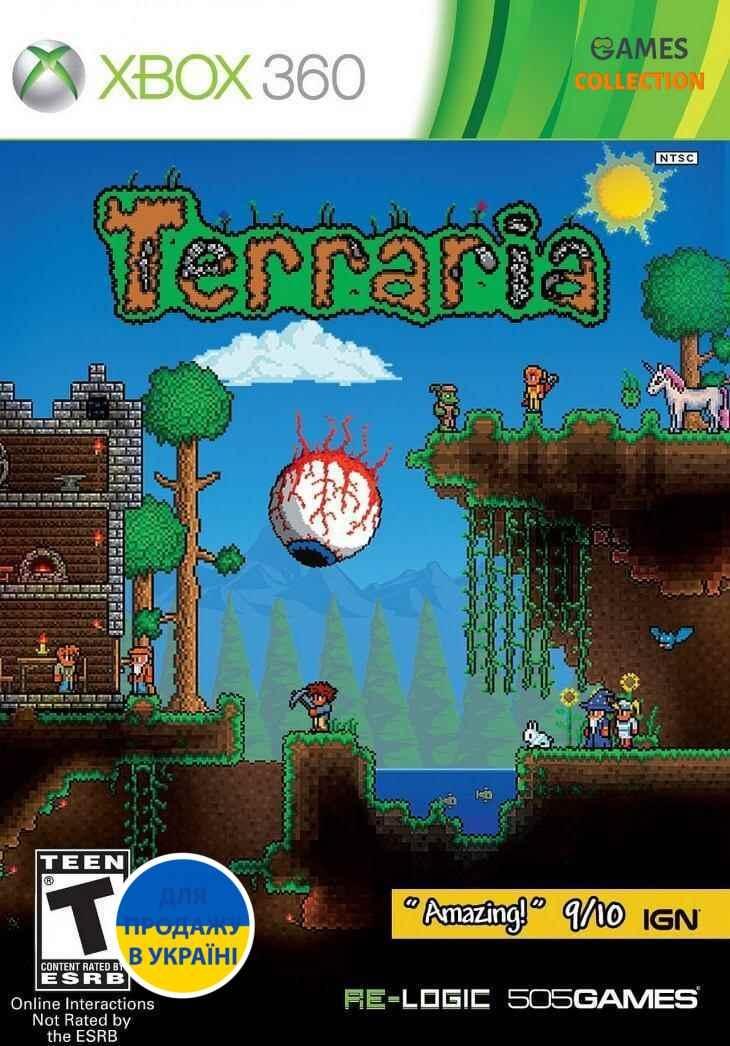 Terraria (XBOX360) Б/у-thumb