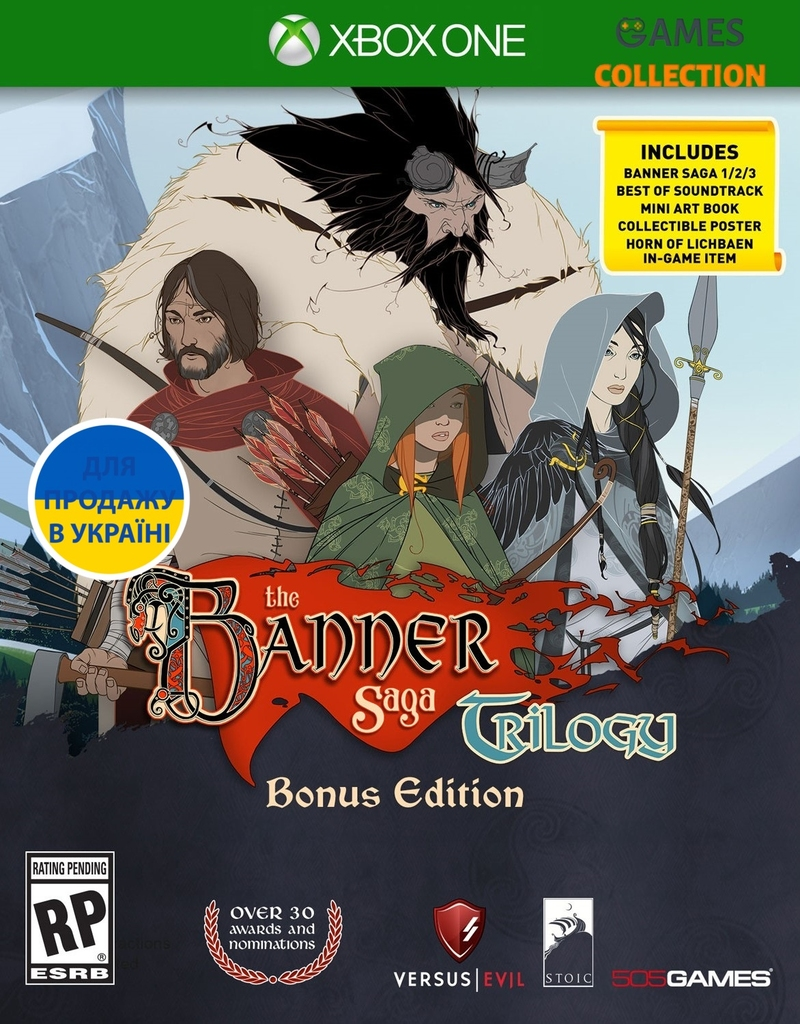 The Banner Saga Trilogy Bonus Edition (Xbox One)-thumb