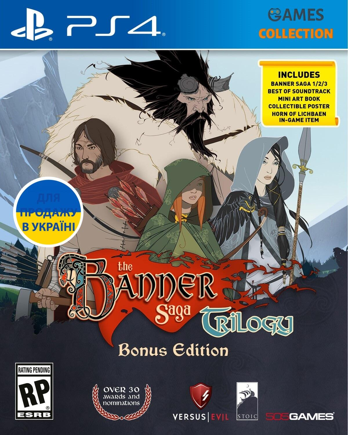 The Banner Saga Trilogy Bonus Edition (PS4)-thumb