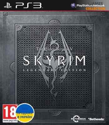 The Elder Scrolls V: Skyrim (Legendary Edition) (PS3)-thumb