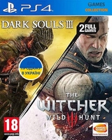 Dark Souls III + The Witcher 3 Wild Hunt (PS4)-thumb