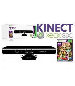 Microsoft Xbox 360 Kinect + блок питания-thumb