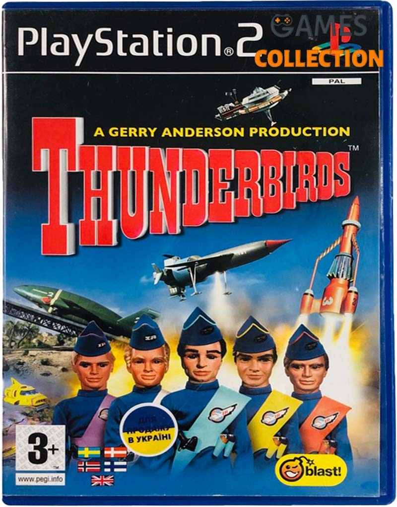 Thunderbirds (PS2) Б/У-thumb